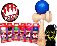 ROYAL Kendama (Pro BKA Competition Approved) Japanese Skill Toy + Bag