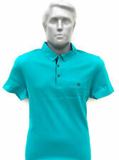 Men's T-Shirt - Polo Neck Half Sleeves Cotton T-Shirt Fashionable Export Quality