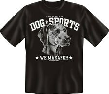 Dog Sports Weimaraner - Fun T-Shirt, Grössen S-M-L-XL-XXL
