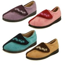 mujer Padders Calce Extra Ancho Zapatillas LABEL Hug W