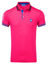 Bunker Mentality Mens CMax Events Polo - Hot Pink