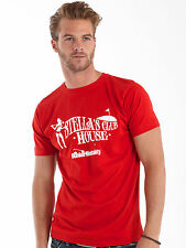 Bunker Mentality Mens Stella's Clubhouse T-Shirt - Red RRP £25