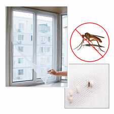Mesh Window Magic Curtain Snap Fly Bug Insect Mosquito Screen Net White