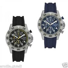 Orologio Uomo NAUTICA NSR 104 Chrono Silicone Blu Nero Sub 100mt New Collection