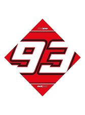 New Official Marc Marquez 93 Bandana  -  16 53075