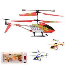 Rechargeable Model Remote Airplane Helicopter Plane Control Kid Toy Propeller