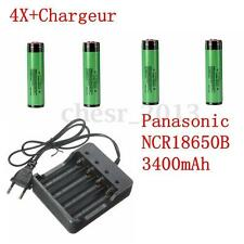 UK PANASONIC NCR18650B 18650 3.7V 3400 MAH BATTERIA LITIO RICARICABILE BATTERY