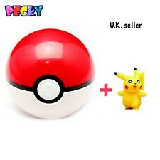 New Pokemon Ball+Pikachu Figures ABS Anime Action Double offer buy 5 get ext 5