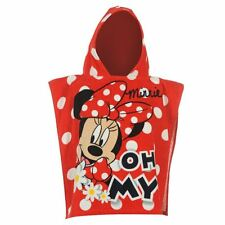 MINNIE MOUSE:GORGEOUS HOODED TOWEL,VERY CUTE,,NEW WITH TAGS