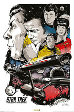 Star Trek - Boldly Go - Film Movie - Poster Druck - Größe 61x91,5 cm