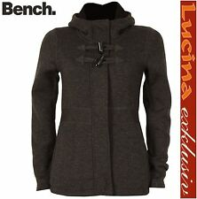 NEU BENCH Chilly  Strick Jacke Damen Fleece Fütter   Jacke, grau