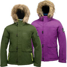 Dare2b Strike Force Kids Ski Jacket Girls Boys Waterproof Insulated Coat