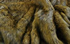 Super Luxury Faux Fur Fabric Material - LONG PILE ALSATIAN