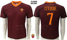 MAGLIA UFFICIALE AS ROMA ITURBE 2016-2017 OFFICIAL ITURBE JERSEY AS ROMA 16/17