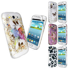 STYLISH PRINTED DESIGN CASE COVER FOR SAMSUNG GALAXY S3 III i9300+SCREEN FILM