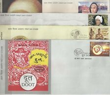 2011 India FDCs complete year set   first day covers High value  FDC