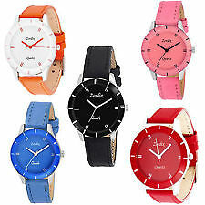 Casual Ladies Watch Black Color Strap Woman Hot selling Watches - All Shape