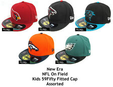 NEW ERA NFL ON FIELD KIDS 59FIFTY FITTED CAP - ASSORTED TEAMS