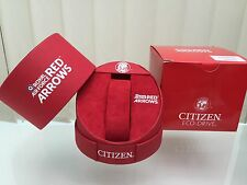 Citizen Eco Drive Watch Box Special Edition Royal Air Force Red Arrows + Papers
