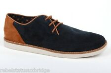 FRED PERRY Shoes Unisex Trainer Suede B3138 Hewitt  Navy Size: UK 10