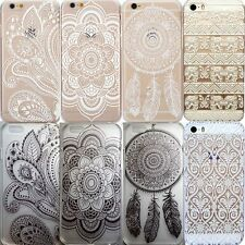 iphone Henna Flower Elephant Dream Catcher Case Cover iPhone 5/5s 6 6+ Quality