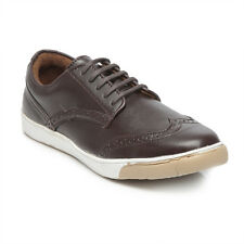 TEN Brown Leather Brogues (TENMTA-1003BROWN)