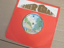 """Curved Air Back Street Luv UK 7"""" 45 Single Excellent"""