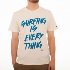 Rip Curl Surfing is everything S/S Tee T-Shirt Maglietta CTEDL4 Ottico bianco