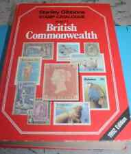 British Commonwealth Stanley Gibbons Stamp Catalogue Part 1 1992 edition