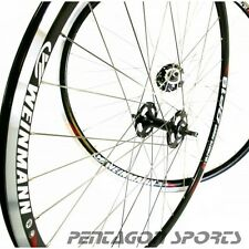 "28"" 700c Alluminio Fixie Single speed Fixed Gear Set ruote bicicletta HR+VR"