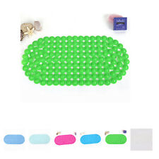 PVC Simple Bubble Floor Non-Slip Bath Mat Shower Tub Bathroom Mats Pad