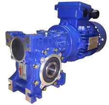 0.25kW Single Phase, Geared Motor, Worm Gearbox