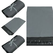 Strong Plastic  Packaging Postal Polythene Mailing Bag 10-Sizes Mail Bags GREY