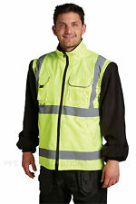 Blackrock Highland 4 in 1 Inner Jacket Hi Vis Reversible Fleece Coat (BRHJA)