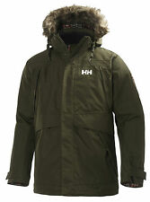 HH Helly Hansen Coastal Parka  55968 olive night  Funktionsparka 3/4 Jacke