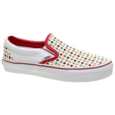 Vans Classic Slip On (Polka Dots) Chilli Pepper/Incence Shoe EYEAVZ