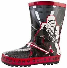 Star Wars Wellington Boots Boys Darth Vader Wellies Rubber Snow Boots Kids Size