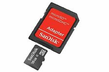 SanDisk SDSDQB-016G-B35 16 GB Class 2 MicroSD Card with MicroSD to SD Adapter