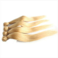 4Bundle Brazilian Virgin Remy Straight Human Hair Weft Extension 200g Blonde 613