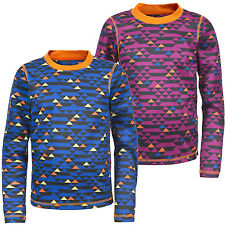 Trespass Doozie Kids Base Layer Top Childrens Thermal Top