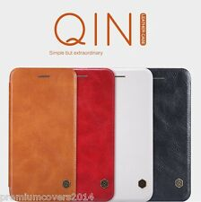 NILLKIN QIN Series Genuine Flip Wallet Leather Case for OnePlus 3