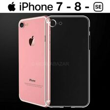FUNDA DE SILICONA GEL TPU ULTRAFINA TRANSPARENTE PARA iPHONE 7 iPHONE 7 PLUS