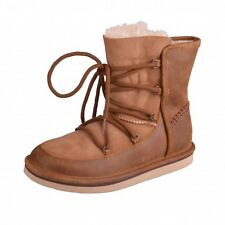 UGG W's Loge Bottes Moonboots Bottes d'hiver bottes Chaussures 1007710 W/CHE