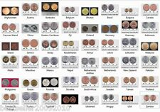 LOT OF 48 COINS FROM 48 COUNTRIES MOSTLY UNC COINS FREE GIFT ANGOLA COIN # C48