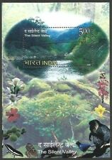 India ONE HUNDRED Miniature Sheet MS 2009 Silent Valley MNH (100) Sealed Packet