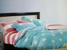 IMFAB 5D Double bed bedsheet with 2 pillow covers