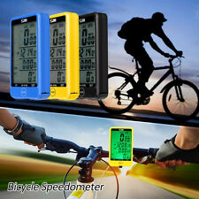 Wireless Cycling Bicycle Odometer Speedometer Bike Computer LCD Touch Screen