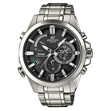 Casio Edifice Mens Watch EQB-510D-1AER Solar Bluetooth Alarm Chronograph