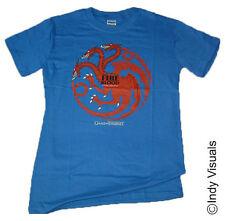 Game of Thrones  Targaryen  Fuoco e Sangue Sigil Khaleesi T-Shirt ufficiale 16B