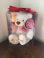 Collectable HARRODS teddy With Love Boxed With Ribbon